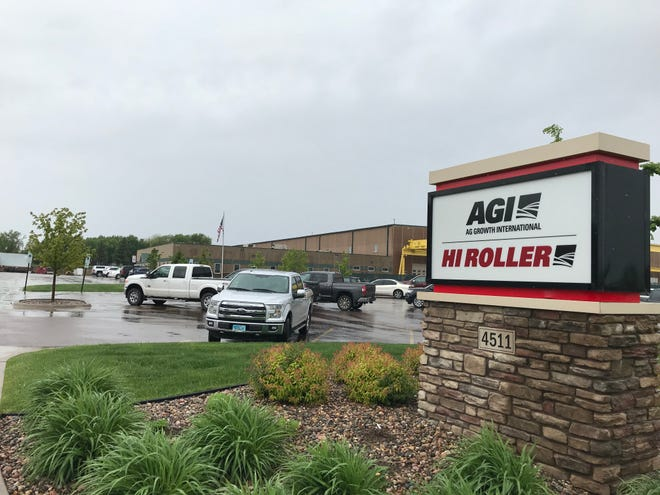 A photo of Hi Roller's northwestern Sioux Falls manufacturing plant. The maker of enclosed conveyors is building a $4.2 million expansion