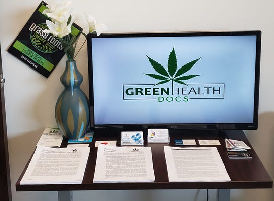 Patient information inside a Green Health Docs clinic.