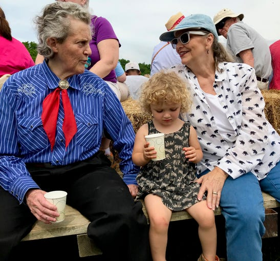 A day with Temple Grandin on Polyface Farms in Swoope, Virginia, on Wednesday, May 29, 2019.