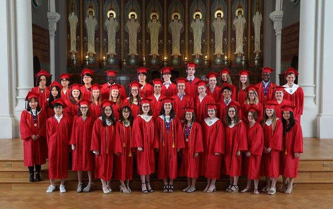 St. John's Preparatory School's Class of 2019.