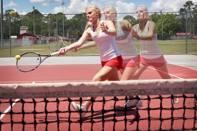 Leon senior Jules Grady is the 2019 All-Big Bend Player of the Year for girls tennis after topping the No. 1 position and reaching the state tournament.