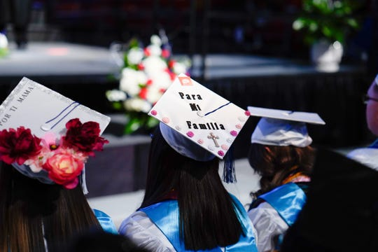 The members of Clint High School's Class of 2019 received their high-school diplomas in a ceremony marked with poignant speeches, touching tributes and a commitment to lifelong learning.