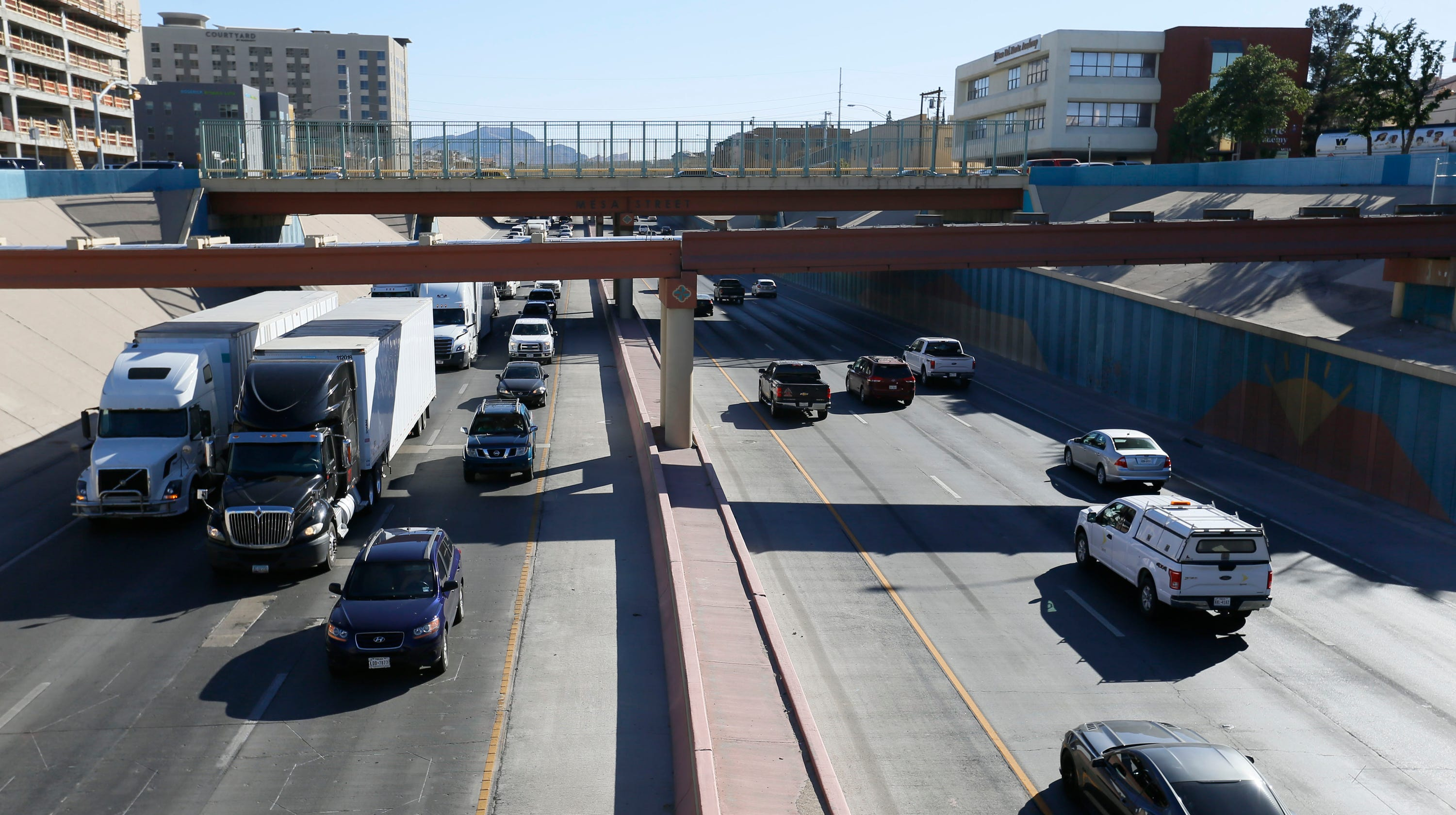 I-10 expansion concept would add bridge parks, demolish