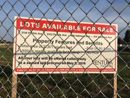 Land for sale near Blanche Reynolds Elementary. The Ventura City Council will vote on approving a buyer for the land, which became available when Harbor Community Church shut down.