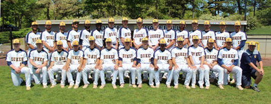 The 2019 national champion Cumberland County College baseball team.