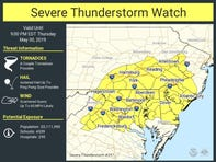Delaware Weather: Severe thunderstorm watch issued —again