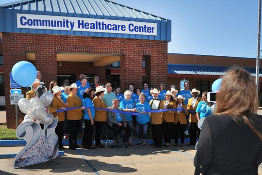 Community Healthcare Center employees celebrated the center's 25th anniversary with a ribbon-cutting ceremony Thursday morning.