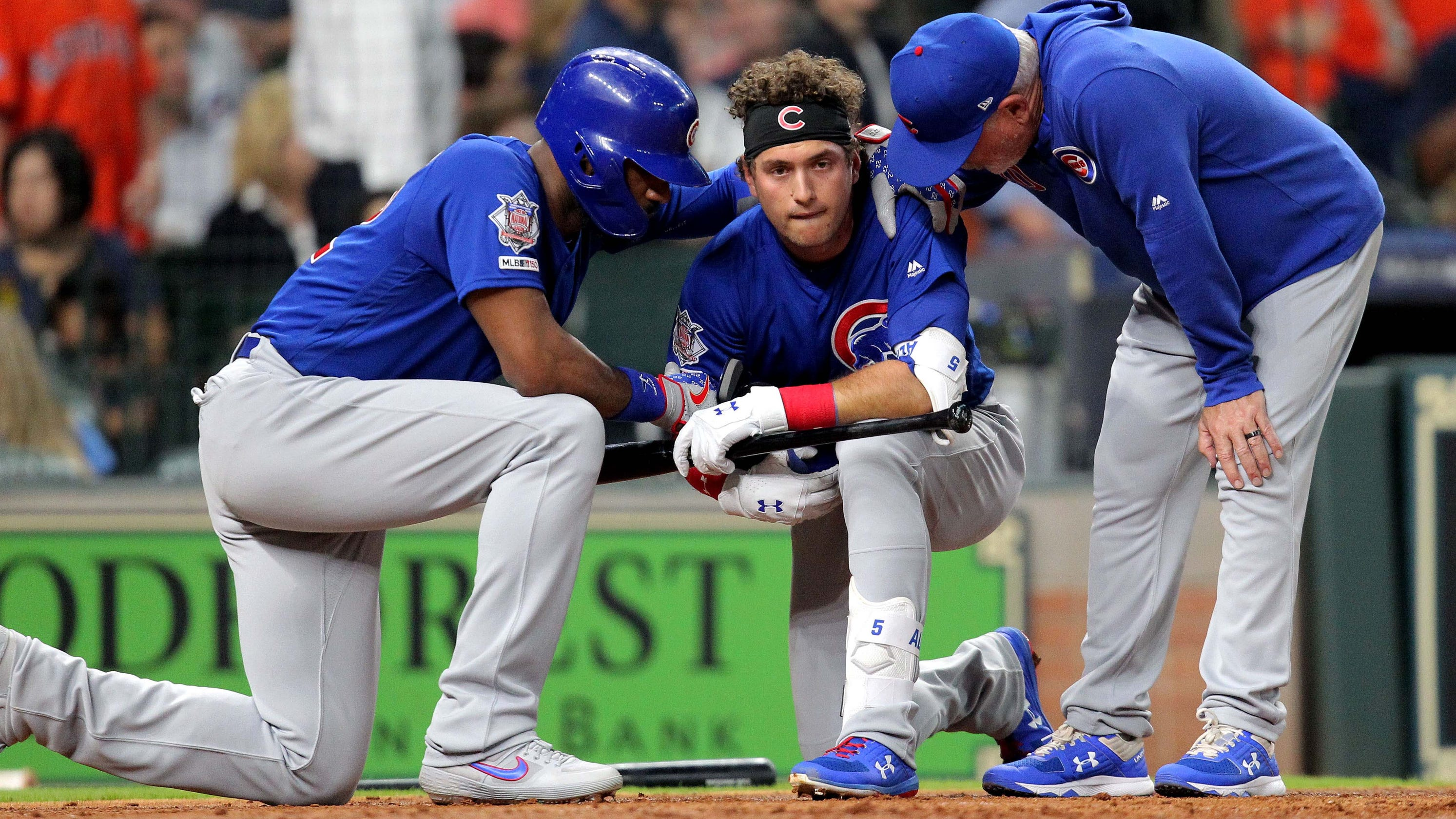 1d1790222bd Albert Almora  Cubs player s foul ball strikes young child in stands