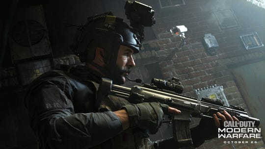 Captain Price returns in 'Call of Duty: Modern Warfare,' coming to PlayStation 4, Xbox One and PC on October 25.