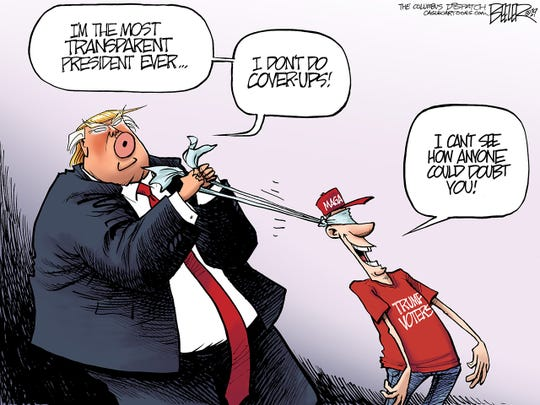 Trump cover-up