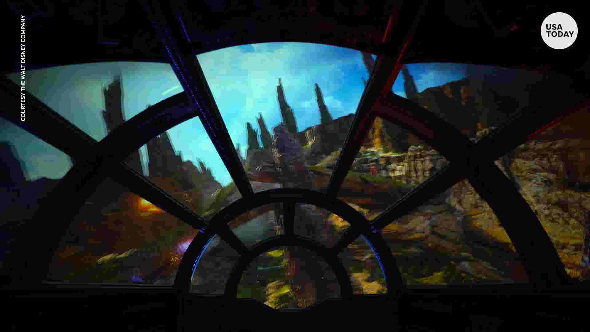 a5c6b849 Take a look inside the Millennium Falcon ride at Star Wars: Galaxy's Edge  at Disneyland