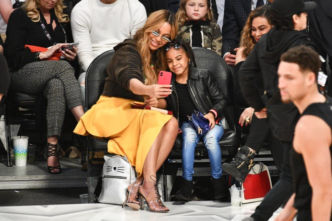 Beyonce was once criticized for not caring after her daughter's hair.