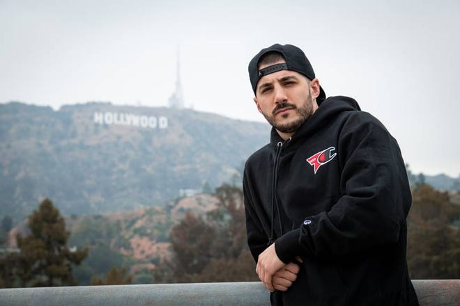 """""""Fortnite"""" streamer and esports athlete Nick """"Nickmercs"""" Kolcheff, is moving to a new esports team, FaZe Clan, from his former team 100 Thieves."""