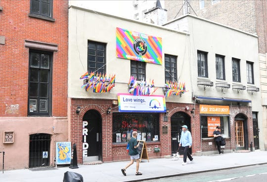The Stonewall Inn on May 29, 2019.