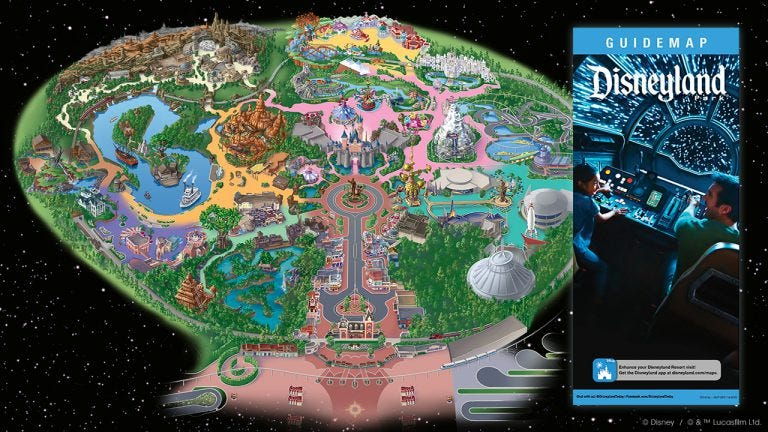 photograph relating to Printable Disneyland Maps known as Fresh Disneyland map: How in direction of navigate Star Wars land