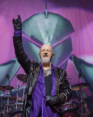 Judas Priest – with lead singer Rob Halford seen here performing at ACL Live on May 29, 2019 in Austin, Texas – headlines Warlando Metal Fest on Sept. 11.