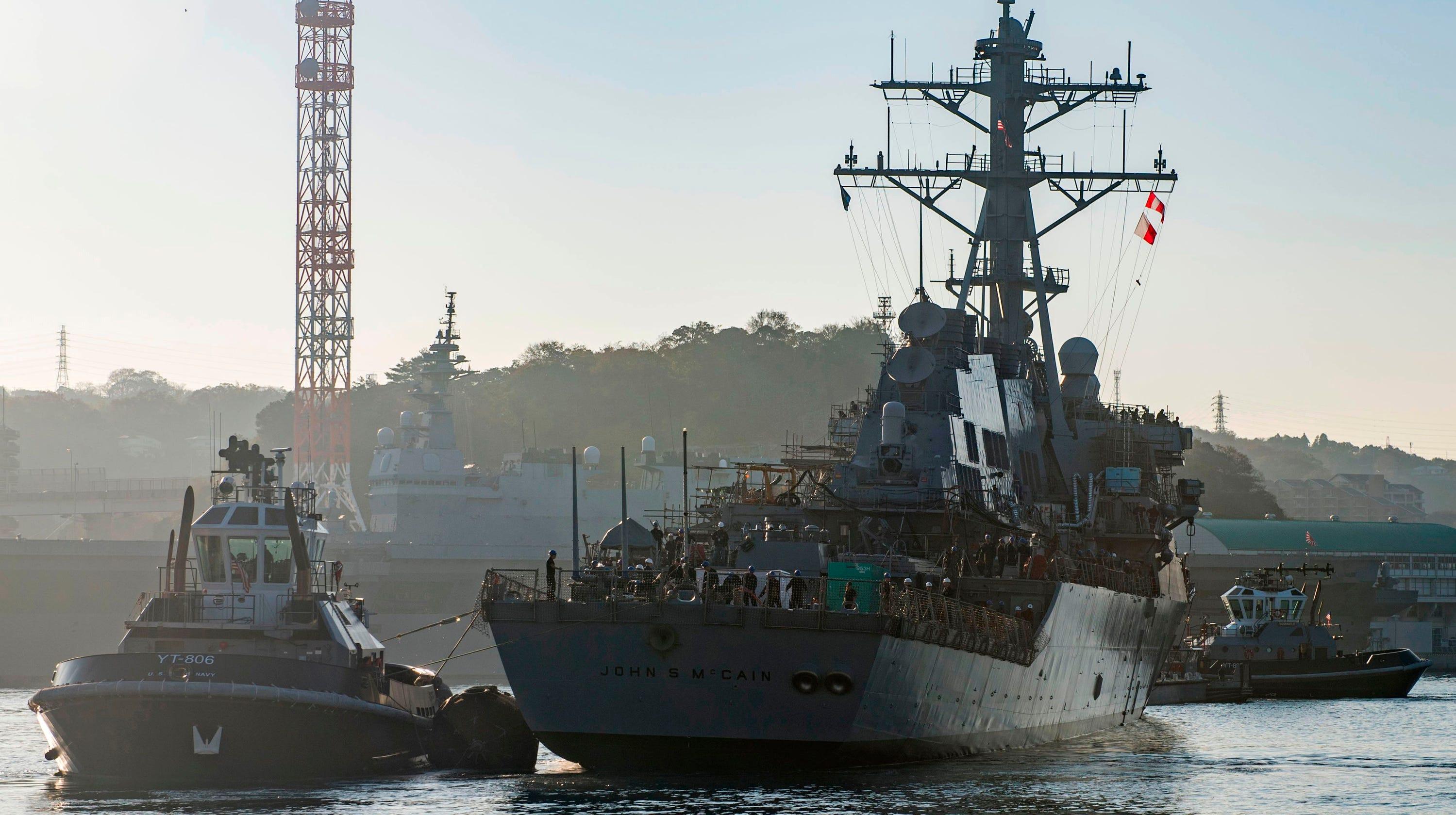 Shanahan to probe USS John McCain incident during Trump