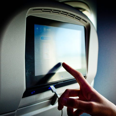 Airlines say that the cameras in their seatback...