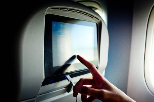 Airlines say that the cameras in their seatback entertainment systems are disabled. But cameras in other locations may not be.