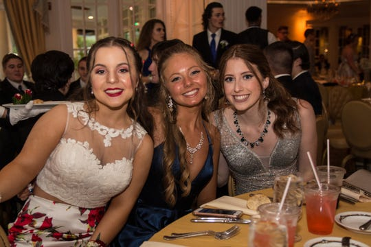 Seniors of Brick Memorial High School attending their senior prom at Eagle Oaks Golf and Country Club. Thursday, May 30th, 2019, in Farmingdale, New Jersey. (Contributor: EvaJo Alvarez)
