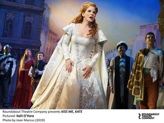 "Kelli O'Hara in ""Kiss Me, Kate."""