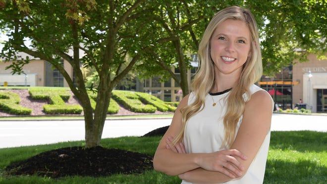 Kaitlyn Schmid '19 is set to start as a high school counselor.