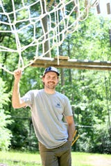 Spencer Huffman is the climbing program manager for North Carolina Outward Bound School.