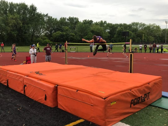 Action from Thursday's Day 2 of Section 4's State Qualifier.