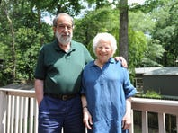 David Kherdian and Nonny Hogrogian to spend an evening with their new neighbors in Black Mountain