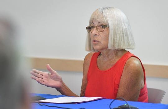 Former Brevard NOW president Vicki Impoco was one of four panelists at a May 30 event titled  #MeToo: An Honest Conversation, hosted by FLORIDA TODAY's Civility Brevard group at Eastern Florida State College.