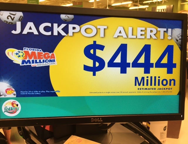 Mega Millions is the 20th-largest jackpot of any type played in the U.S.