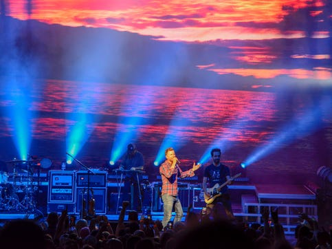 "Country star Dierks Bentley brought the ""Burning Man"" tour to Riverbend on Thursday May 30. 2019 along with friends Jon Pardi, Tenille Towens and Hot Country Nights."