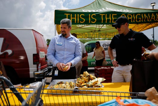 Kroger Piqua Ohio >> Dayton tornado aid: 'Stuff the bus' to help tornado survivors