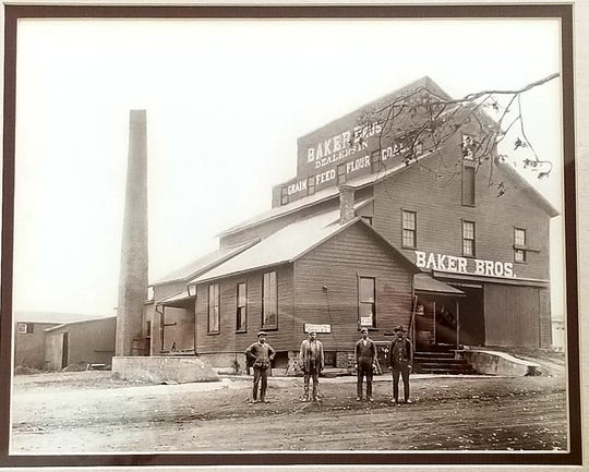 The Baker family opened their first feed business in Englewood, Ohio.