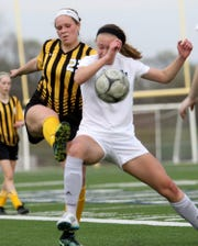 Bettendorf standout and Northern Illinois signee Allison Whitaker is one of the state's best defenders.