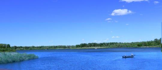Big Woods Lake in Cedar Falls on May 21.