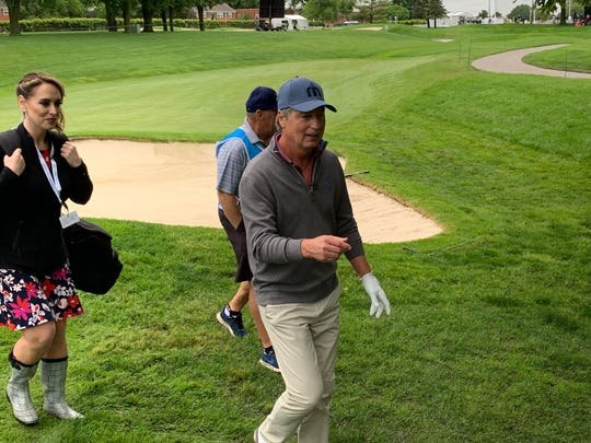 Golf Channel analyst Brandel Chamblee, 56, is making just his second PGA Tour Champions start this week at the Principal Charity Classic in Des Moines.