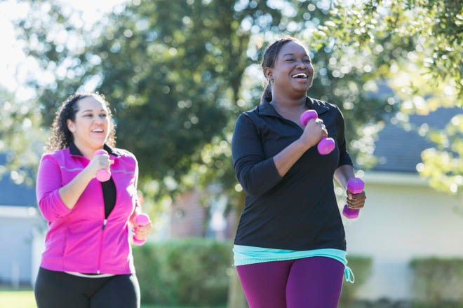 Despite our best intentions, nearly 80 percent of us fall short of the Centers for Disease Control and Prevention's recommendation of 150 minutes of aerobic and strength training exercise each week.