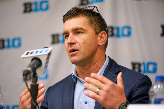 Michigan coach Erik Bakich.
