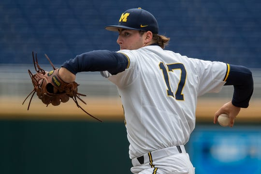 Jeff Criswell and the Michigan Wolverines were to open NCAA Tournament play Friday.