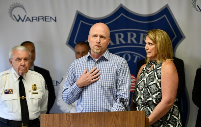 Brian Conner and his wife, Geri, talk about their 15-year-old daughter, who called police while thieves were ransacking their home.