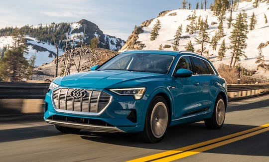Tackling the 7,000-foot climb up to Lake Tahoe from Sacramento does not phase Audi's new 2019 e-tron electric vehicle, which arrives with range to spare.