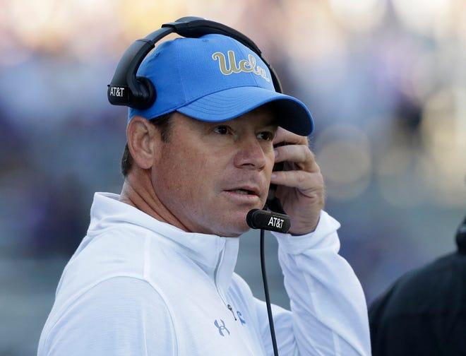 Former UCLA head coach Jim Mora