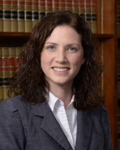 Vanderburgh County Superior Court Magistrate Molly Briles