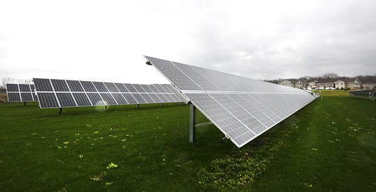 Solar panels supply half of the energy for the Sisters of St. Agnes Convent in Fond du Lac