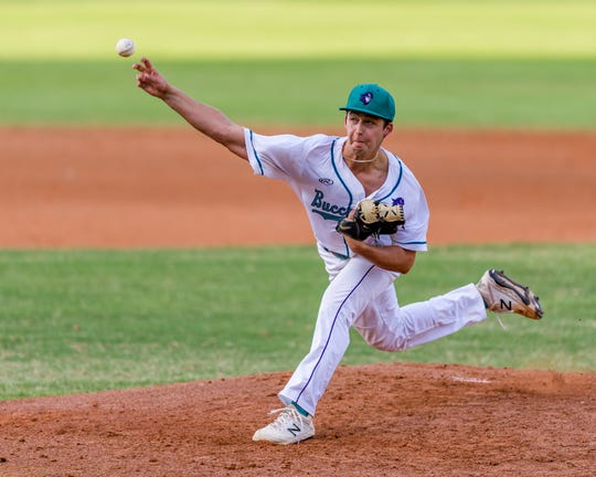 FSW pitcher Mitch Myers went 7-2 with 88 strikeouts and 23 walks in 79 ⅓innings for the Buccaneers his sophomore season.