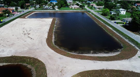 27,000 tons of toxic sludge was removed along South Street in Fort Myers. Detention ponds or a green space are uses proposed by city officials.