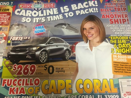 Kia Dealership Tampa >> Billy Fuccillo brings back Caroline Renfro to pitch Cape ...