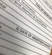 Abortion statistics provided by the Office of Vital Statistics are mandated by law.
