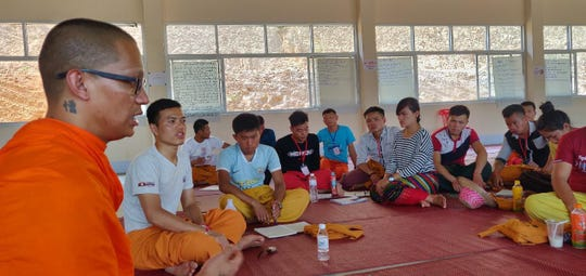 CHamoru Buddhist monk Duke Palacios spent part of 2019 training teachers at Shan State National School in Myanmar.